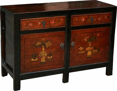 AU1950 • Buy Chinese Antique Furniture -  Original Mogolian Painted Sideboard (26-020)
