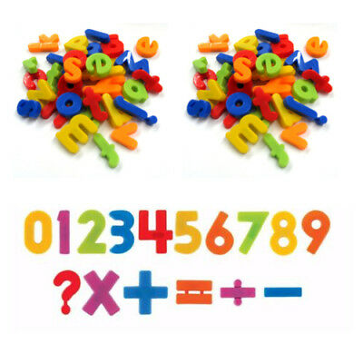 £3.99 • Buy Fridge Magnets Alphabet Numbers STRONG MAGNETS MAGNETIC BABY LETTERS AND LARGE