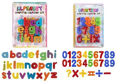 £3.99 • Buy Fridge Magnets Alphabet Numbers KIDS STRONG MAGNETS MAGNETIC LETTERS AND LARGE