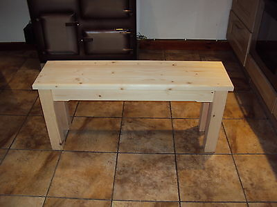 Quality Wooden Handmade Kitchen-Dining-utility  Bench Sturdy And Solid 5FT • 70£