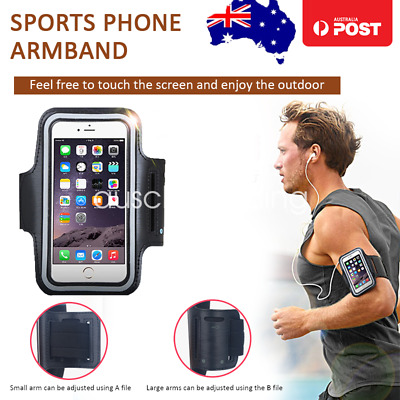 AU5.99 • Buy Sports Gym Running Exercise Armband Case For Apple IPhone XS XR X 8 7 Plus Pouch