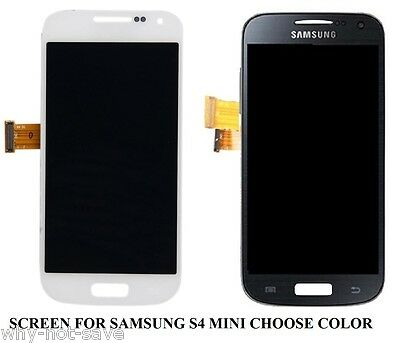 Full LCD Digitizer Glass Screen Display Replacement For Samsung Galaxy S4 Mini • 58.81£