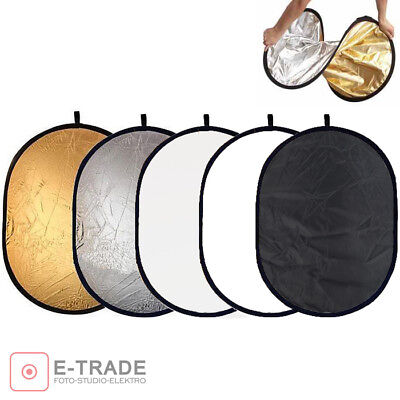 120x180cm - 5in1 Multi Photo Disc Collapsible Light Reflector Photography Studio • 19.97£