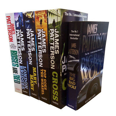 £29.95 • Buy James Patterson Alex Cross Series 6 Books Collection Set Roses Are Red Mary NEW