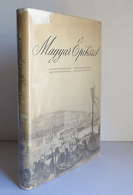 £17.97 • Buy Magyar Epiteszet 1954 Hungarian Architecture To End Of 19th C. Hungary Buildings