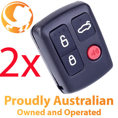 AU14.99 • Buy 2 X Remote Control For Ford BA BF Falcon Sedan Wagon Keyless Central Locking