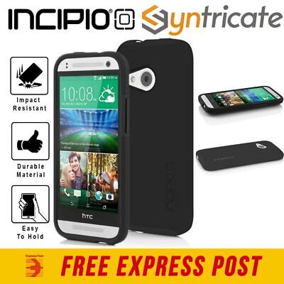 AU26.36 • Buy HTC One Mini 2 Incipio DualPro Tough Case - Black/Black