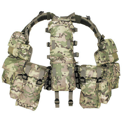 £49.95 • Buy Mfh Army Combat Tactical Patrol South African Assault Vest Set Operation Camo