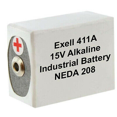 £14.33 • Buy Exell Battery 411A Compatible With Avometer MK III Model 8 FAST USA SHIP