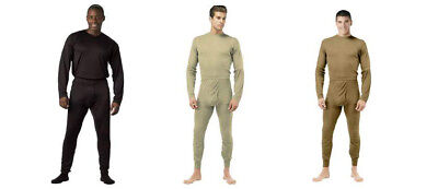 $17.99 • Buy Underwear Long Johns Thermal  Military Gen III ECWCS Silk Weight Rothco