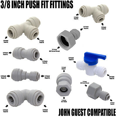 £5.50 • Buy VYAIR 3/8  Push-Fit Tube Connections Compatible With John Guest Speedfit
