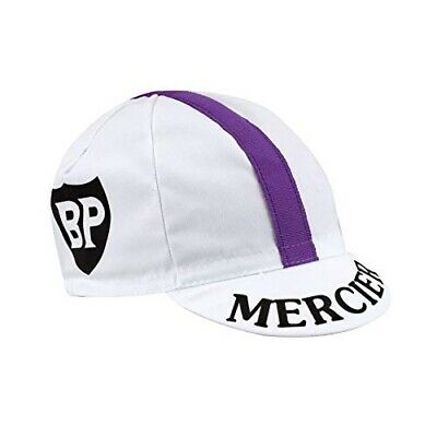 Mercier Retro Vintage Cycling Team Summer Under Helmet Made Italy Bike Hat Cap  • 7.95£