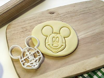 Mickey Mouse Disney Cookie Cutter Cupcake Topper Fondant Gingerbread Cutter • 5.75£