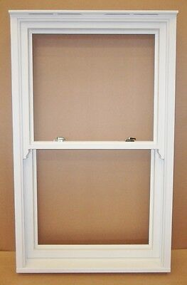 A Rated Double Glazed Wooden Timber Softwood Vertical Sliding Sash Window • 800£