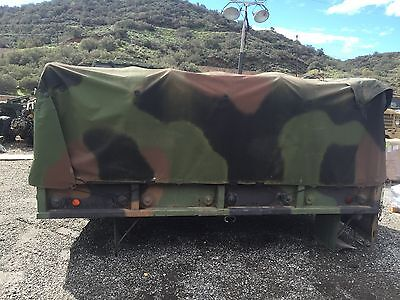 $1250 • Buy M35A2 M35A3 Cargo Bed With Cover, And Roll Cage.