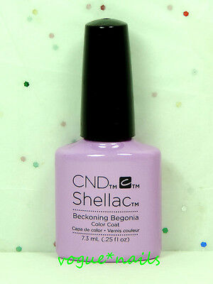 AU16.06 • Buy CND Shellac Gel Color UV Polish Gel 90797- Beckoning Begonia