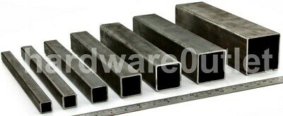 £5.71 • Buy Mild Steel SQUARE BOX Section Pipe Tube Bandsaw Cut & Bespoke Orders Cut To Size