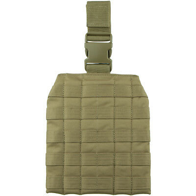 Viper Elite Army Drop Leg Webbing Platform Military Molle Carrier Panel Coyote • 15.95£