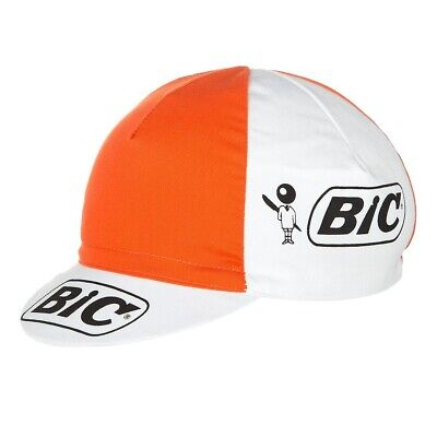 Bic Retro Pro Cycling Team Made In Italy Summer Under Helmet Bike Hat Cap  • 7.79£
