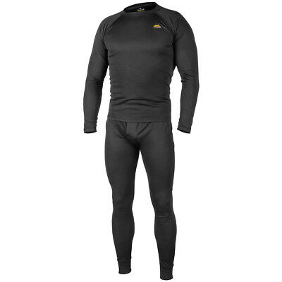 $37.90 • Buy Helikon Thermal Army Mens Underwear Set Level 1 Tactical Military Security Black