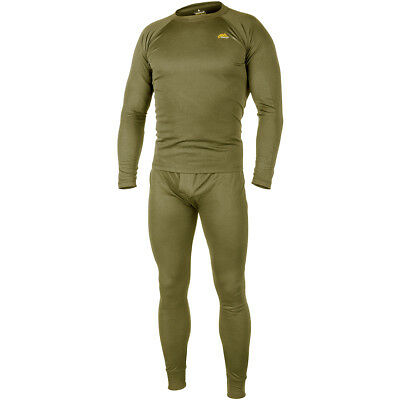 $37.90 • Buy Helikon Thermal Mens Army Military Undershirt & Drawers Level 1 ECWCS Olive