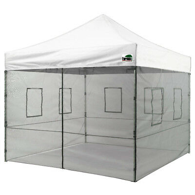 $329.95 • Buy 10X10 Ez Pop Up Canopy Vendor Commercial Food Service Booth Trade Show Tent
