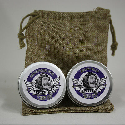 £6.69 • Buy Beard Balm & Moustache Wax Pocket Combo With Bag. 10ml Choice Of Scents