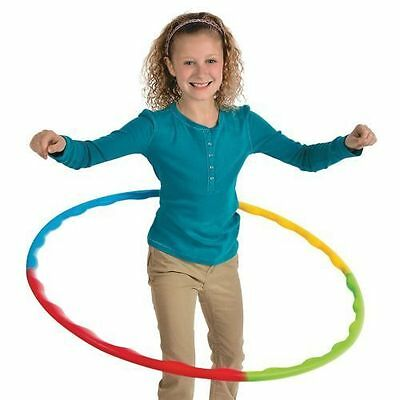 Self Assembling Hula Hoop Garden Games Girls Toys Party Travel Plastic Toy • 2.99£