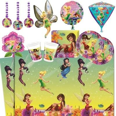 £2.99 • Buy Tinkerbell Fairies Party Supplies Tableware, Decorations & Balloons