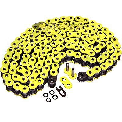 AU39.73 • Buy 520 X 120 Links Motorcycle Atv Yellow O-Ring Drive Chain 520-Pitch 120-Links