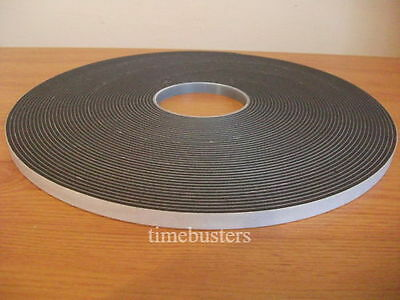 15m Black Double Sided Foam Tape Closed Cell 10mm Wide X 4.5mm Car/Glazing  • 18.60£