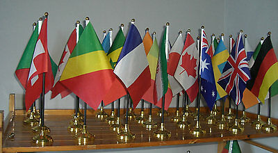 £3.57 • Buy World Flag Table Flags - Large Great Quality Country National International