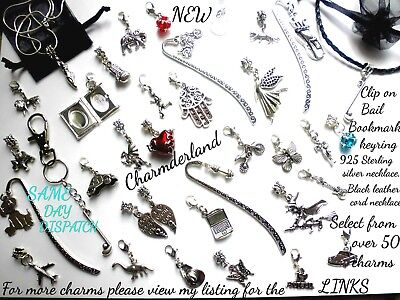 Charm,clipon,bail,boxing,witch,animal,sport,hobbie,music,areoplane,skull,car,hat • 2.29£