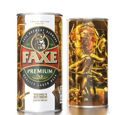 $ CDN13.24 • Buy Faxe Beer Can VIKING'S Best Friend Part 4 Seductress Volume 900 Limited Edition