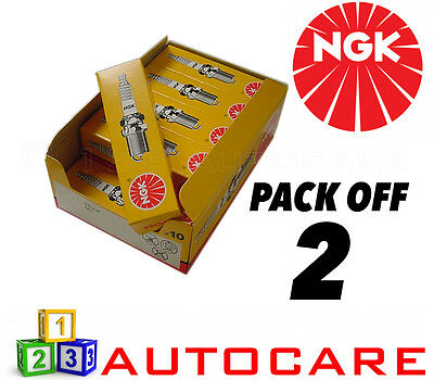 NGK Replacement Spark Plug Set - 2 Pack - Part Number: BPR6ES No. 7822 2pk • 6.36£