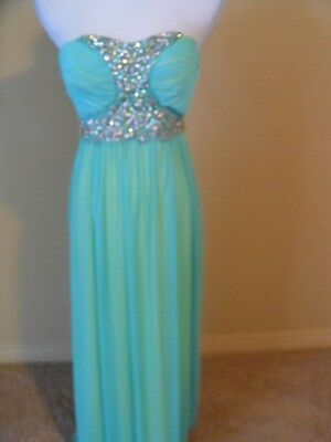 AU64.88 • Buy NWOT  Way In Clothing  Dress, Teal, Size 3