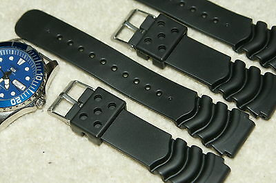 Rubber Divers High Quality Watch Strap For Citizen/Seiko Heavy Grade 18-24mm • 7.99£