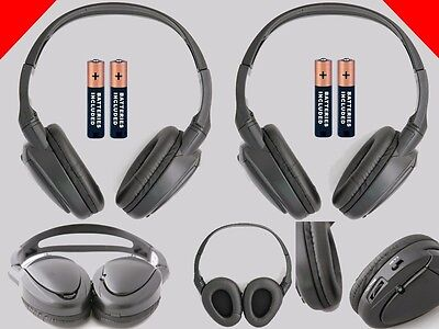 $39.80 • Buy 2 Wireless DVD Headphones For Nissan Vehicles : New Headsets
