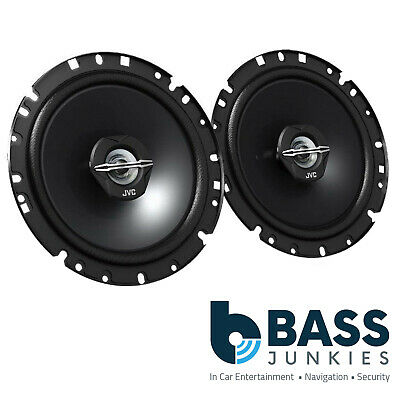 JVC 6.5  Inch 600 Watt Car 2 Way Coaxial Front Door Speakers For Toyota Avensis • 32.99£