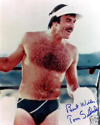 £5.49 • Buy Tom Selleck Autograph Signed Pp Photo Poster