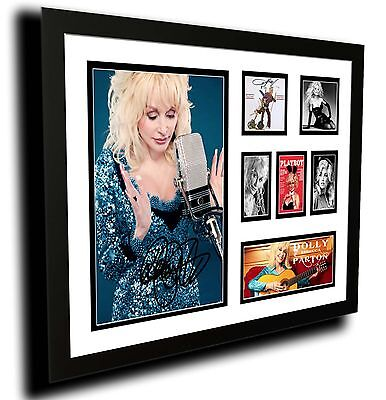 AU85 • Buy Dolly Parton Signed Limited Edition Framed Memorabilia