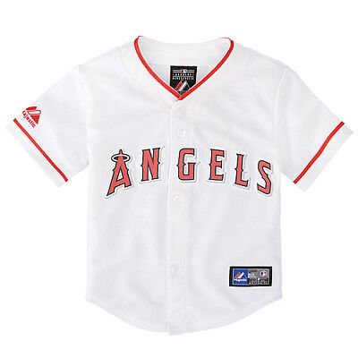 $20.40 • Buy NWT Majestic Los Angeles Angels Toddlers Home Replica Jersey 2T-4T
