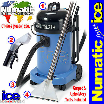 £399.99 • Buy Numatic CT470 Industrial Commercial Carpet Upholstery Cleaner Machine Equipment