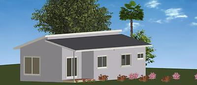 AU24750 • Buy 3 Bedroom DIY Granny Flat Kit - The Royal 76.2m2 For Your Slab - CGI Wall Sheets