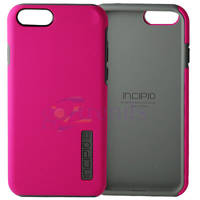 AU18.08 • Buy INCIPIO APPLE IPhone 6 6s (4.7 ) Dual PRO Case Dual Layered Cover - PINK / GRAY