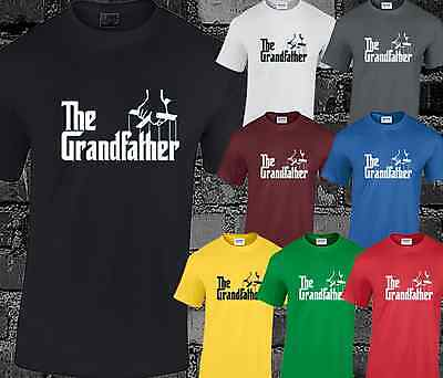The Grandfather Mens T Shirt Funny Godfather Gift Present Dad • 6.99£