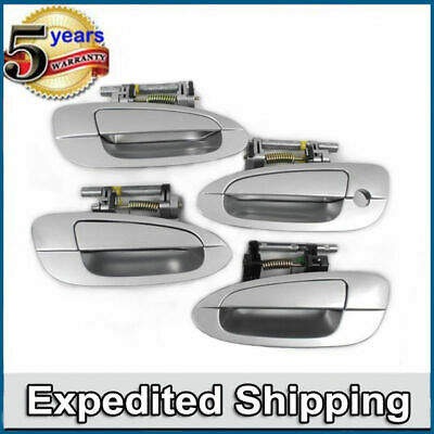$77.40 • Buy MotorKing Upgraded Outside Door Handle KY1 Sheer Silver 4 PCS  For NISSAN ALTIMA