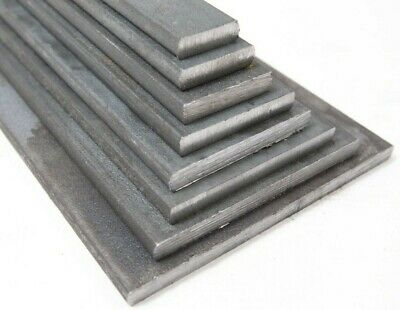 £4.61 • Buy MILD STEEL 6mm Thick FLAT BAR 20 -100 Mm Bandsaw Cut Plate Specials To Order