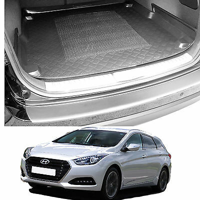 Hyundai I40 Cw Estate Tailored Boot Tray Load Liner Dog Mat Or Bumper Protector • 33£