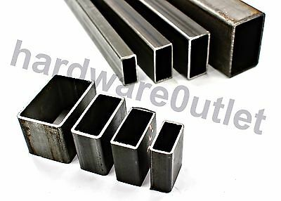 £2.63 • Buy Mild Steel RECTANGLE BOX Section Rectangle Tube 5 Sizes & 6 Lengths Available